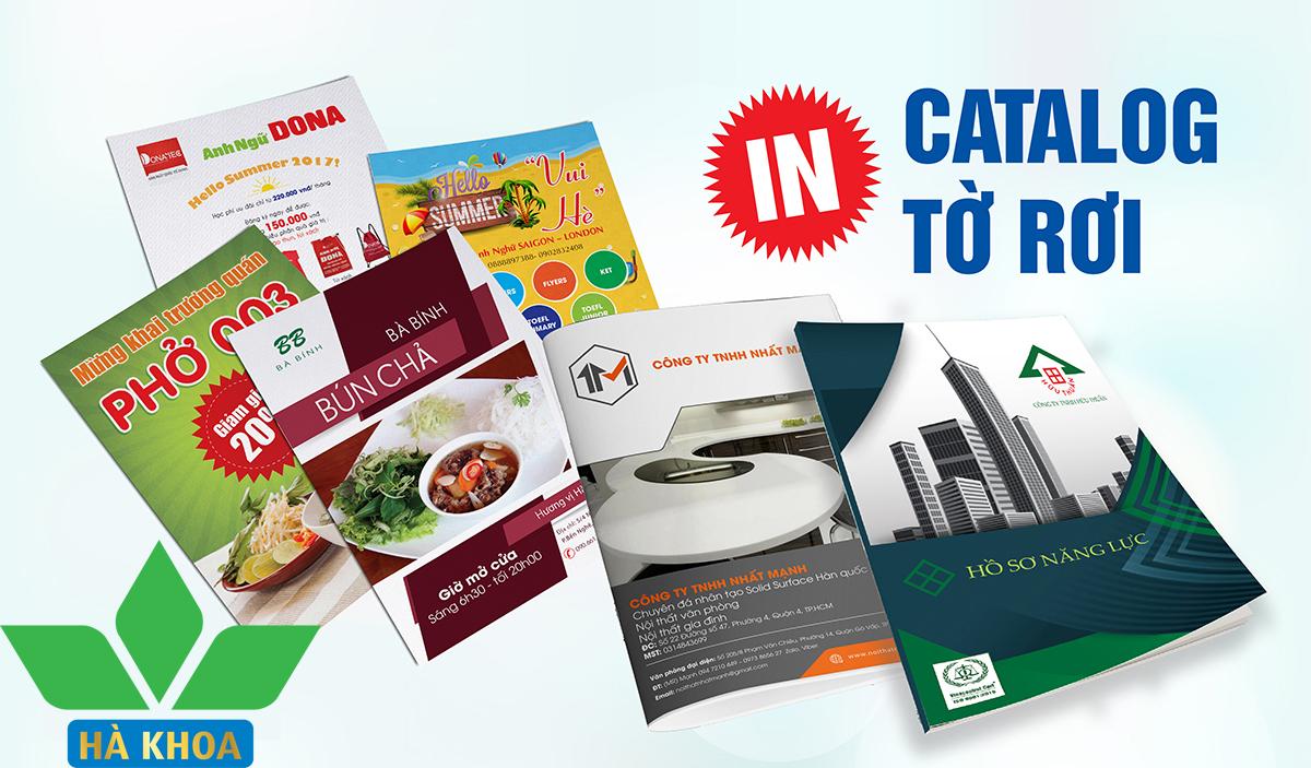 In catalogue Nhanh - Giá rẻ tại Hà Nội