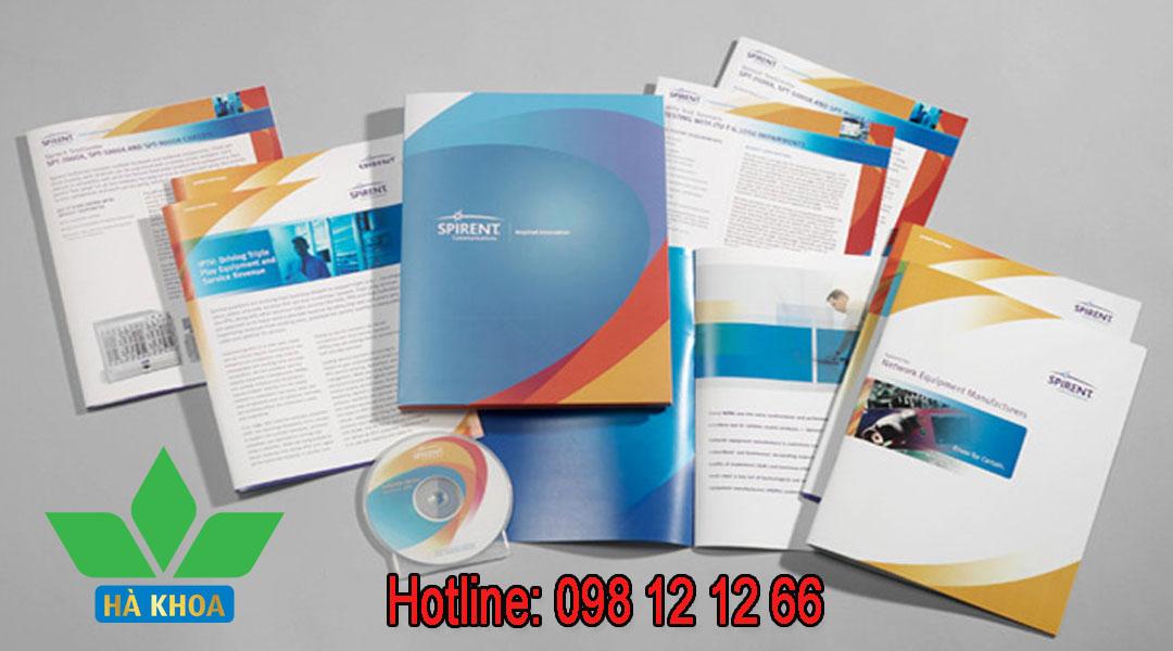 Dịch vụ thiết kế catalogue, brochure