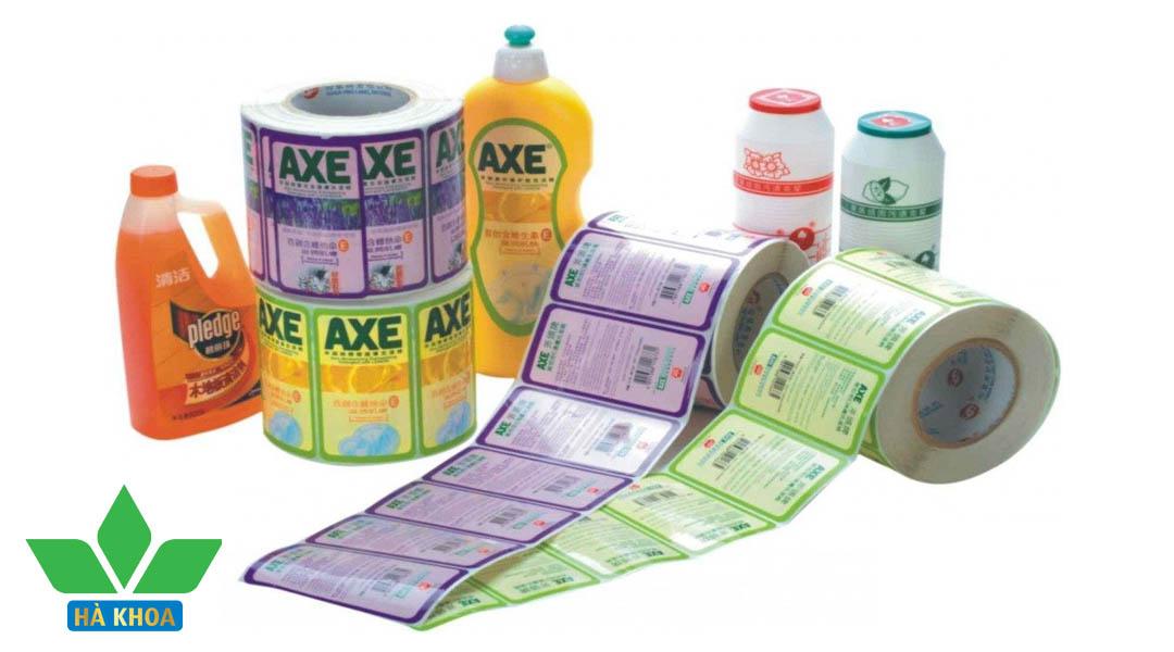 thiết kế tem, nhãn mác tại hà nội